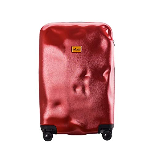 LLRDIAN Hand Carry-on Suitcase Luggage Bag Luggage Suitcase Hand Luggage Hard Shell Luggage Lightweight Hand Luggage Suitcase (Color : Red, Size : 45×29×74cm)