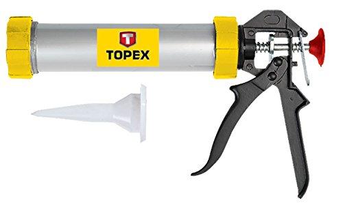 Topex 21b360–Kartuschenpistole für Silikon (600ml)