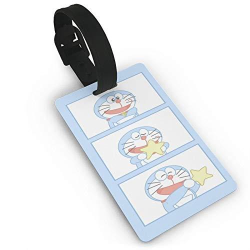 Gepäckanhänger Star Do-Ra-Emon, Anime-ID-Tags, Karte, Reiseanhänger für Koffer, Kofferraum, Privatsphäre, modische Abdeckung, Namensetiketten, 9,4 x 5,6 cm