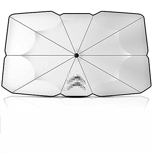 NASDIZL Sombrilla para salpicadero de Coche, Parasol, protección Solar, Aislamiento térmico, Parabrisas, Parasol, Apto para Citroen Elysee Sega C4 / C3-XR