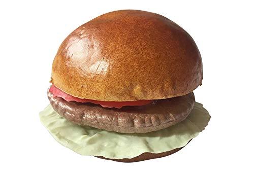 ERRO Hamburger Kunststoff Attrappe - 15533, Hohle Lebensmittelattrappe, Foodmodel, Theater Requisite