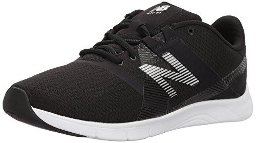 New Balance Wx611V1, Zapatillas Deportivas para Interior Mujer, Negro (Black), 37.5 EU