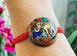 Orgonite Bracelets, Protection EMF, Elephant symbol, representing the abundance and prosperity- daily use-yoga meditation. handmade, Arte orgones