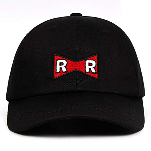 Baseball Cap Papa Hut Baumwolle RR Baseballmütze Red Ribbon Army Zarte Stickerei Snapback Caps Keine Struktur Hut