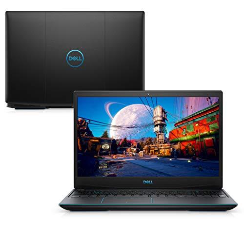 Notebook Gamer Dell G3 15 3500-A20P 10ª Geração Core i5 8GB 512GB SSD NVIDIA GTX 1650Ti Tela 15.6' Windows 10 Preto