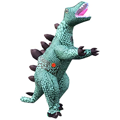 LXLTLB Trajes Inflables Halloween Adulto Inflable T Rex Dinosaur Partido Dinosaurio Hinchable Traje Funny Dress