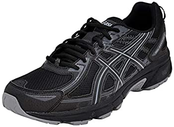 ASICS Men s Gel-Venture 6 Running Shoe Black/Black 10.5 D M  US