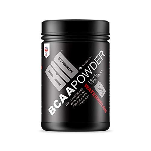 Bio-Synergy BCAA 2.1.1 Powder Supplement, 360 g, Watermelon Flavour