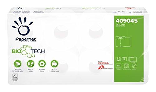 Papernet 409045 Toilettenpapier Superior Bio Tech weiß