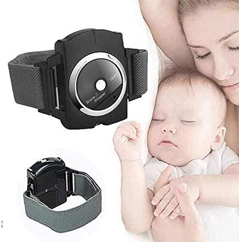 NXX Tapón De Ronquido Pulsera De Conexión De Sueño Ajustable Dispositivo De Ronquido De La Conexión del Sueño,Seguro Transpirable,Apto para Hombres Mujeres Ancianos