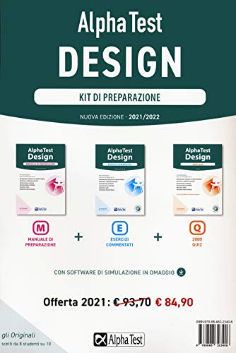 Alpha Test. Design. Kit di preparazione