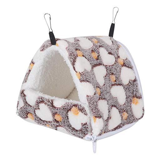 Hamsterbed, Winter Pluche Slaapbed Kleine huisdieren Hangmat voor Sugar Glider Hedgehog Cavia's Gerbils Dwarf Rat