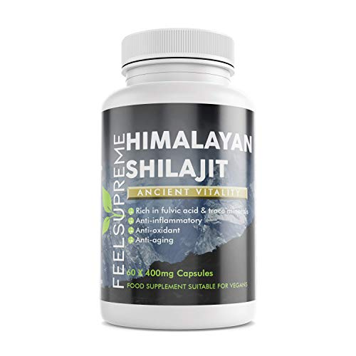 Himalayan Shilajit - 60 Capsules - Feel Supreme