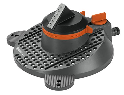 Arroseur Rotatif et Sectoriel Tango Comfort de Gardena : Arroseur Rotatif 2 en 1 : Arroseur Rotatif et Sectoriel, Débit d'Eau et Portée du Jet Réglables, pour des Surfaces de jusqu'à 310 M² (2065-20)