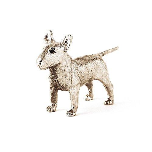 Bull Terrier Made in UK, Collezione Statuetta Artistici Stile Cani