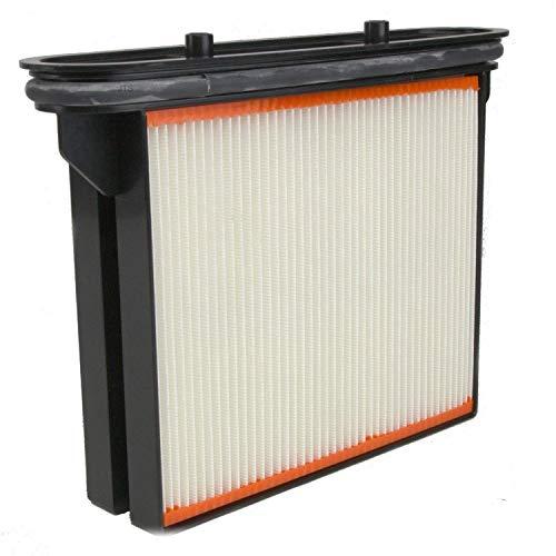 DeClean 1 x Filter Ersatzfilter Feinstaubfilter Faltenkassette Faltenfilter Nassfilter - Ersatzteil für Nass- / Trockensauger von BTI NTS 20 A-2
