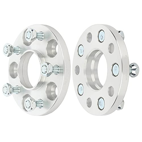 ECCPP 2PCS 15mm 5 lug Hubcentric wheel spacers 5x4.5 5x114.3 Wheel Spacers Kits 12X1.25 Studs 66.1mm fits for 1995-1998 for Nissan 240SX 2008-2013 for Infiniti G37