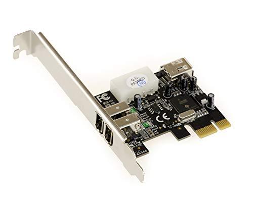 KALEA-INFORMATIQUE © Controleur PCI-EXPRESS-Karte (FireWire 400 ports 2 IEEE1394a - 1, 6-CHIPSET TI XIO2200 A