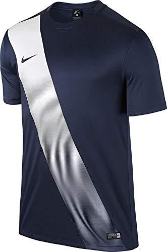 Nike Sash Football Maillot Homme, Dunkelbleu/Blanc, FR : XL (Taille Fabricant : XL-52/54)