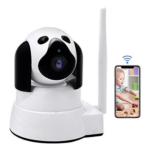 Vigilabebés LXMIMI Bebé Monitor IP WiFi P2P Cámara de Vigilancia/Seguridad Inalámbrica 720P con Intercomunicador Bidireccional,Vision Nocturna,Detección de Movimiento/Vista Remota para Mascotas/Bebé