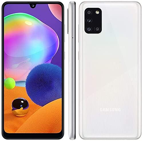 Samsung Galaxy A31 - Smartphone 128GB, 4GB RAM, Dual Sim, Prism Crush White