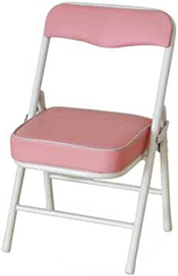 WGXX Silla Plegable ChildrenFolding Small Chair Stool, Silla De Respaldo Portátil, Asiento