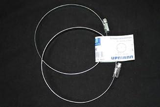 Upmann 66500 slangklemmen DN 100 mm svper paar