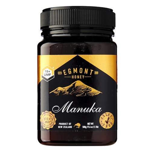 Egmont Honey エグモントマヌカハニーUMF 15+ 500G(17.6Oz)100%ピュアニュージーランドのマヌカハニー [並行輸入品]