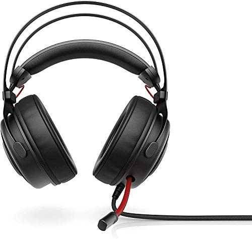 Jszzz Qwee HP Omen 800 Gaming-Headset mit In-Line Mic, 53 Drivers Mm, DTS, 3.5 M und Abbrechen Geräusche for Xbox One, PS4, PC & Phone