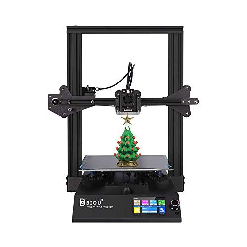 BIQU B1 All Metal FDM 3D Printer With 32bit Motherboard, 3.5 Inch Touch Screen, Filament Detection, Resume Printingfor Beginners, 235 X 235 X 270mm