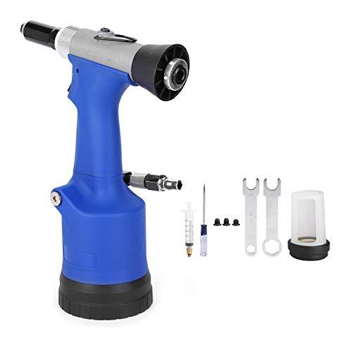 EVTSCAN KP-708/708X remachadora neumática remachadora hidráulica herramienta de remachado para remaches 2,4/3,2/4,0/4,8mm(KP-708X (Self-priming))