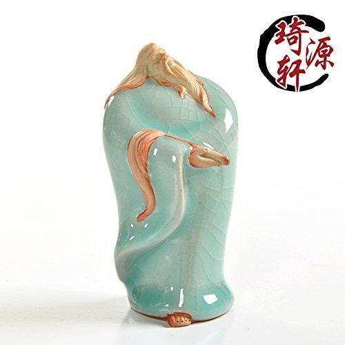 Charaktere, Ornamente, berühmte Personen des Teeofens, Teezeremonie, lila Sandtee, Lieblingscharaktere, kunsthandwerkliche Artikel, historische Figuren, Tao Saint