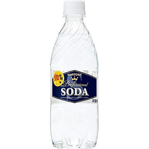 サントリーソーダ 強炭酸水 ペットボトル 無糖0cal 490ml×35本