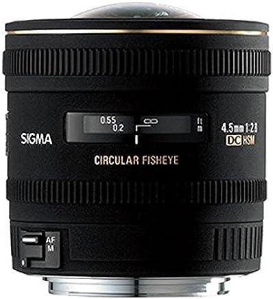 SIGMA 4.5mm f/2.8 EX DC HSM Circular Fisheye PENTAX - Objetivo (0.135, 77.8, 1:6)