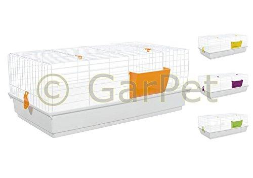 GarPet Kaninchenkäfig Hasenkäfig Meerschweinchen Hasen Kaninchen Käfig Stall 100