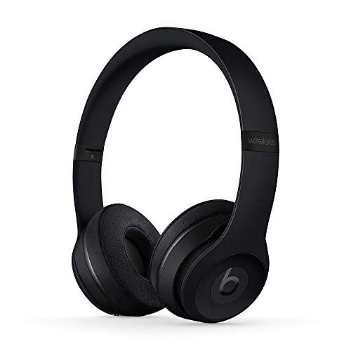 Beats Solo3 Wireless Cuffie – Chip per cuffie Apple W1, Bluetooth di Classe 1, 40 ore di ascolto – Nero