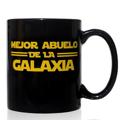 VOODOO ISLAND Taza mug Desayuno de cerámica Negra 32 cl. Modelo Mejor...