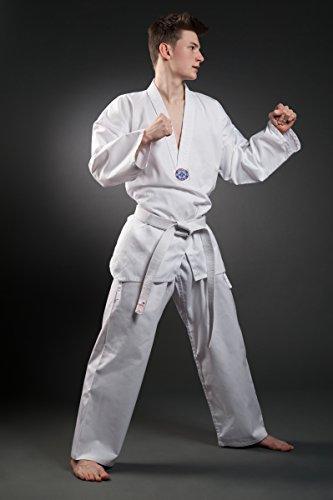 Taekwondo Traje Orkansports–7,5oz WTF, unisex, color , tamaño 110