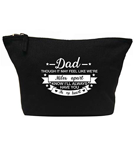 Flox Creative Trousse de maquillage Dad Feels Miles Apart Always Have You in my Heart