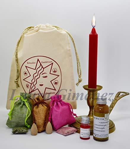 Velas amor velas esotericas kit para amarre de amor elaborado artesanalmente a mano recupera a tu amado en pocos dias