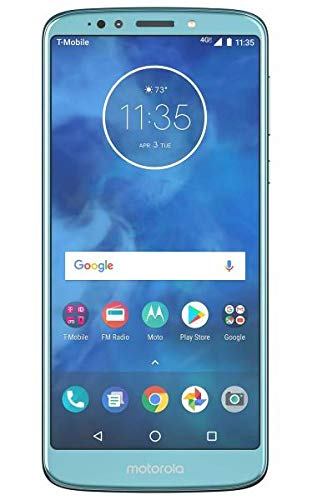 Motorola Moto E5 Plus XT1924-7 T-Mobile Locked 32GB 4G LTE Android Smartphone - Blue (Renewed)