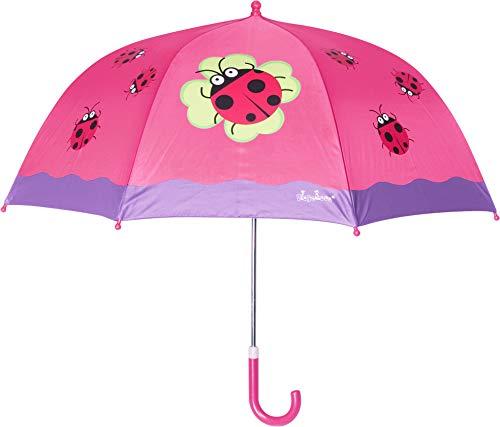Playshoes 448583 Glückskäfer Regenschirm, Rosa (original 900), (Herstellergröße: one Size)