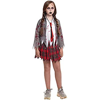 Partilandia Disfraz Zombie Colegial para niño(2-4 años): Amazon.es ...