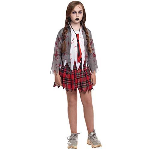 Disfraz Zombie Colegiala para niña(7-9 años)