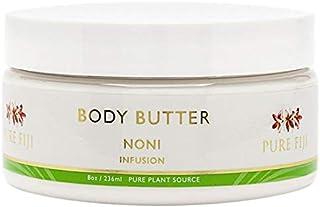 Pure Fiji Hydrating Body Butter - Natural Body Butter with Coconut, Dilo, Macadamia, Sikeci Oil, Noni, 8 oz