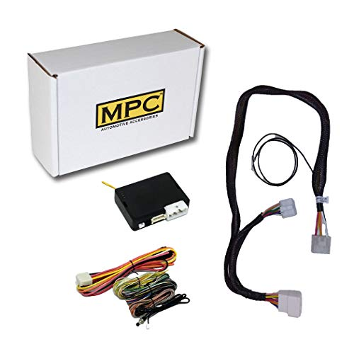 MPC Complete Remote Activated Remote Start Kit for 2011-2012 Toyota RAV4 - with T-Harness - Firmware Preloaded