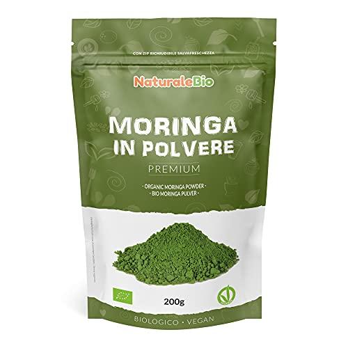 Moringa Oleifera Bio in Polvere - Qualità Premium -...