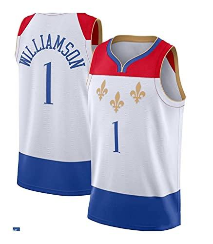 NGLQWA Camisetas De Baloncesto No 1 Equipo Cuello Cuello Completo Jersey Baloncesto Uniforme De Baloncesto Uniforme De Baloncesto (Color : Sky Blue, Size : XL)
