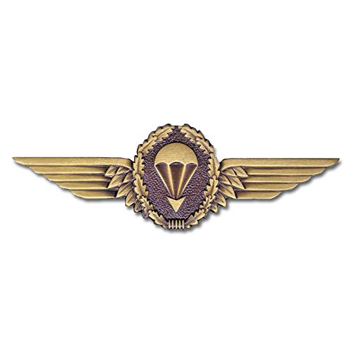 Abzeichen BW Fallschirmspringer bronce Metall