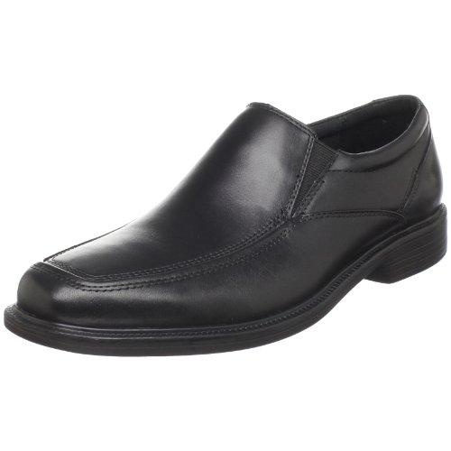 Bostonian Men's Mendon Dress Slip-On,Black Leather,9 M US